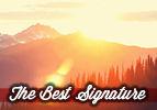 The Best Signature