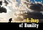 A Drop of Humility