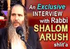 Rabbi Shalom Arush shlit'a