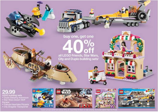 LEGO Target Sale