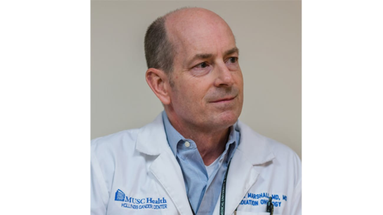 David Marshall, M.D., Chair of the MUSC Department of Radiation Oncology