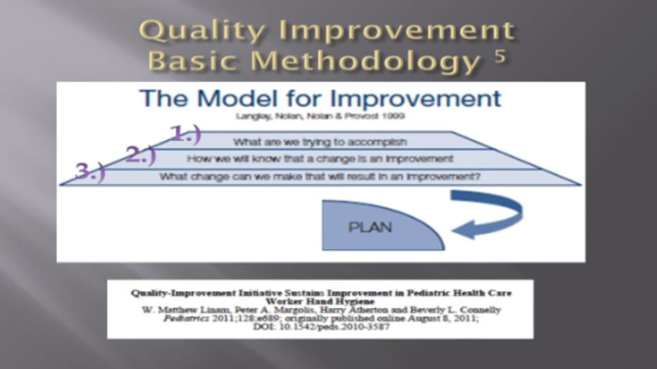 Quality Improvement: The Practical Guide for Busy Pediatricians
