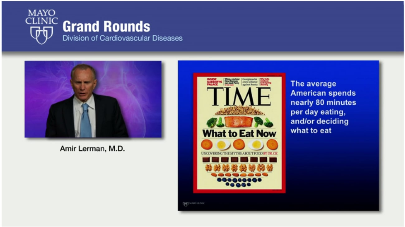 Grand Rounds: Eating for a Healthy Heart