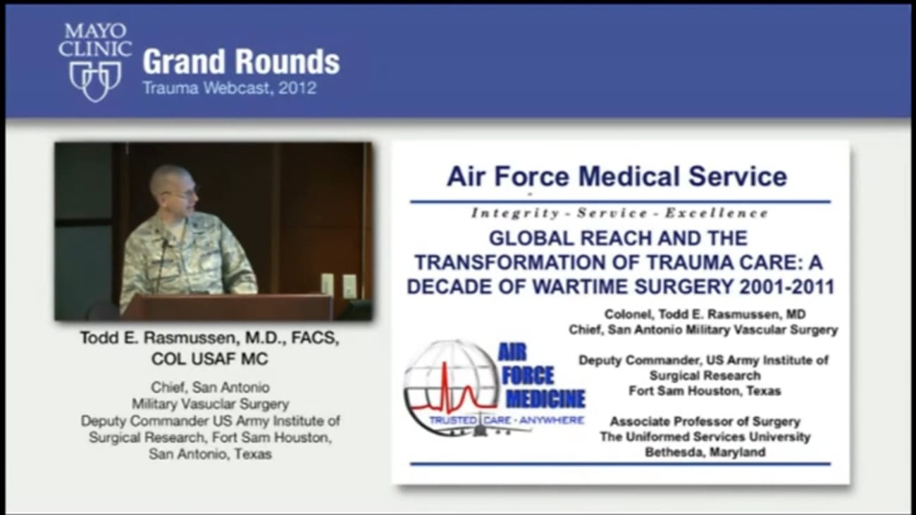 Grand Rounds: Global Reach and the Transformation of Trauma Care
