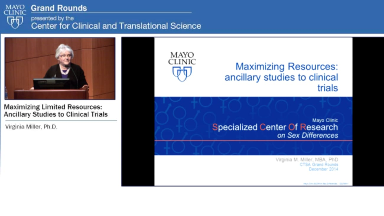 Grand Rounds: Maximizing Limited Resources: Ancillary Studies to Clinical Trials