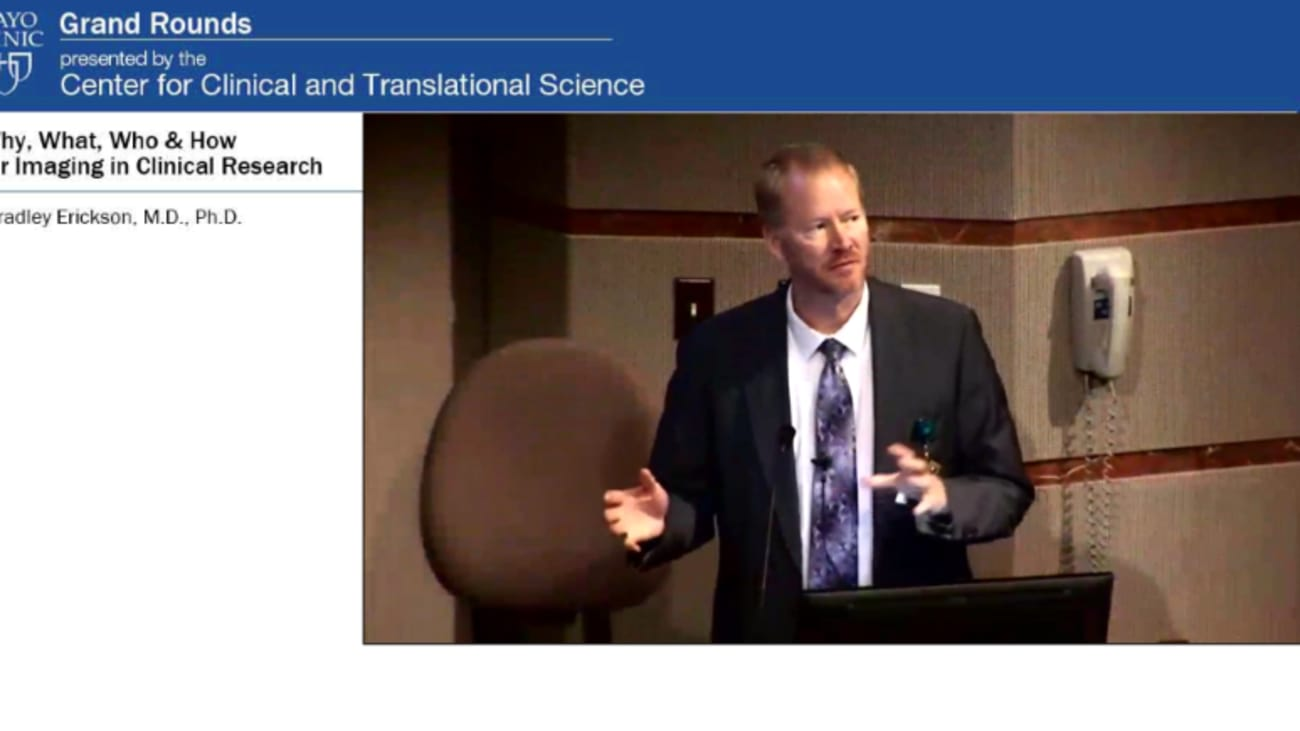 Grand Rounds: Why, What, Who & How for Imaging in Clinical Research