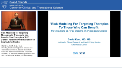 Grand Rounds: Risk Modeling for Targeting Therapies to Those who can Benefit