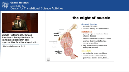 Grand Rounds (CME): Muscle Performance, Physical Function and Frailty: Methods of Translation Research and Opportunities for Clinical Application