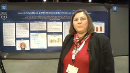 AAPMR 2011 Meeting- Mary Pyfferoen Discusses Poster