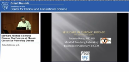 Grand Rounds — Self-Care Abilities in Chronic Disease: The Example of Chronic Obstructive Pulmonary Disease