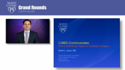 Grand Rounds: Controversies in CABG: Five Contentious Topics in Coronary Surgery