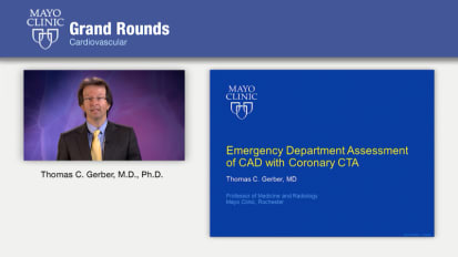 Grand Rounds: Emergency Department Assessment of CAD with Coronary CTA