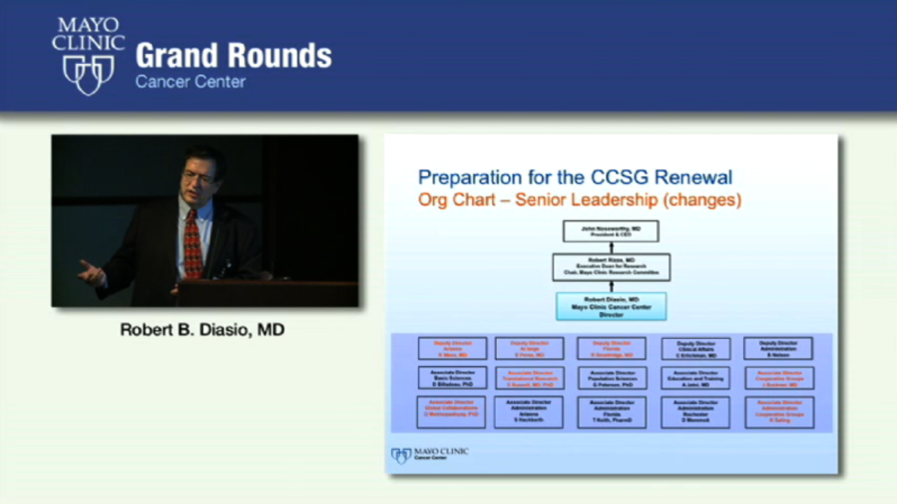 Grand Rounds: Overview of the Mayo Clinic Cancer Center