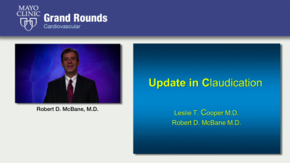 Grand Rounds: Update in Claudication