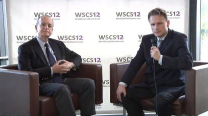 Drs. Terzic and Rakela during the World Stem Cell Summit