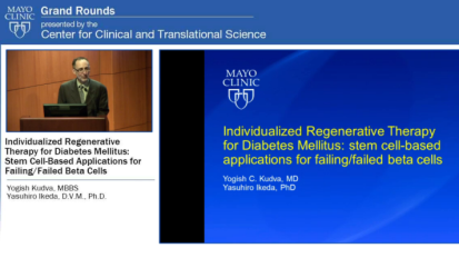 Grand Rounds: Individualized Regenerative Therapy for Diabetes Mellitus: Stem Cell-Based Applications for Failing/Failed Beta Cells