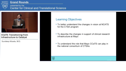 Grand Rounds: CCaTs: Transitioning from Infrastructure to Catalyst
