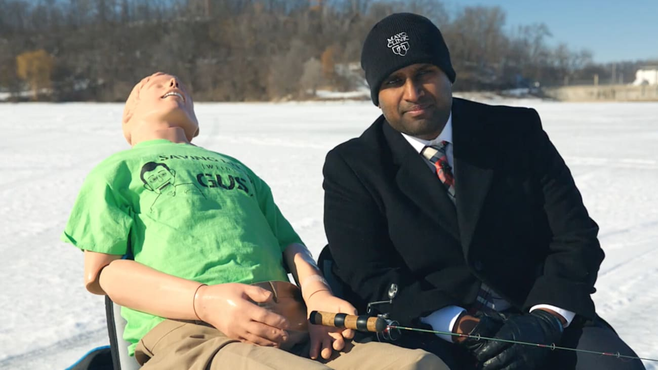Saving Lives with Gus: Ice Fishing Safety