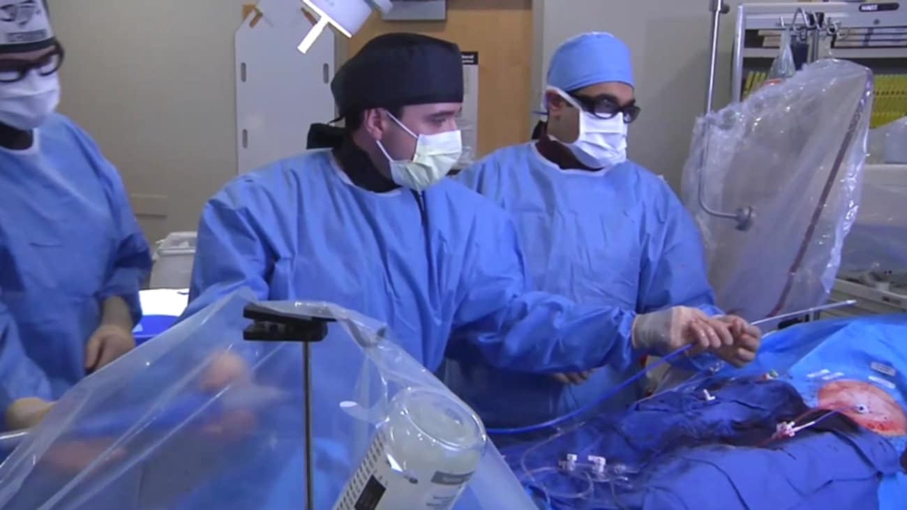 Transcatheter Aortic Valve Replacement (TAVR) Procedure