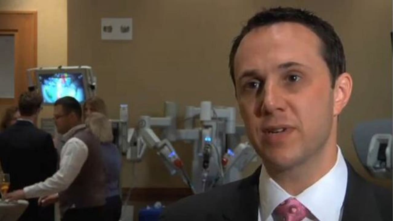 Dr. Fagin Speaks About the Advantages of the Texas Institute for Robotic Surgery