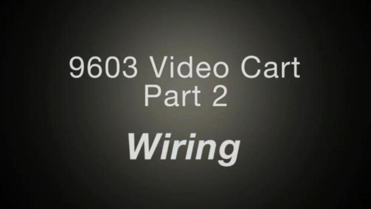 9603 Video Cart, Part 2: Wiring - Karl Storz