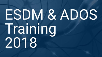 ESDM & ADOS Training