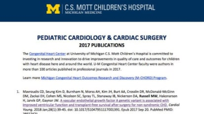 Pediatric Cardiology & Cardiac Surgery