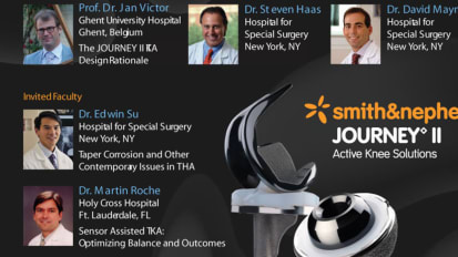 Evening of Innovation featuring: PHYSIOLOGICAL MATCHING™, JOURNEY II TKA and VERILAST™ Technologies