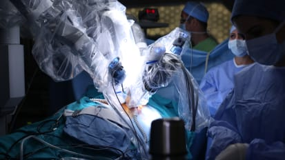 Robotic Surgery Leads to Faster Recovery Time
