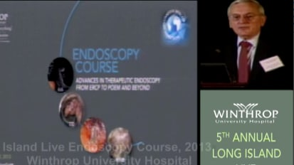 2013 LI Live Endoscopy Course: Welcome & Introduction