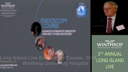 2013 LI Live Endoscopy Course: Welcome & Introduction 3