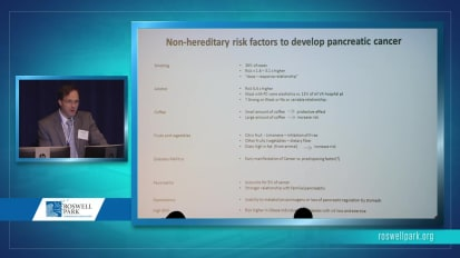 Pancreatic Cancer: Hereditary Syndromes and Pre-Malignant States