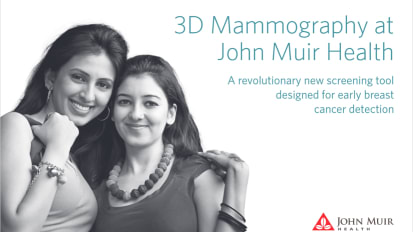3D Mammography at John Muir Health