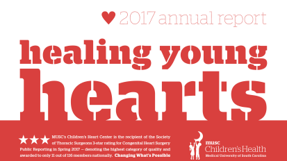 2017 Pediatric Cardio Annual Report: Healing Young Hearts