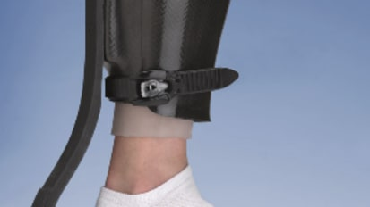 Toad Anti-Gravity (TAG) Brace for Plantar Ulcerations