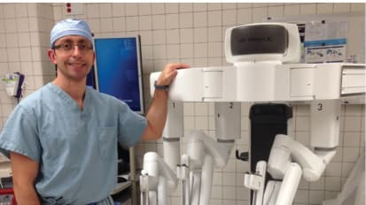 Robotic Surgery Expanding at UH