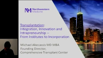 Transplantation: Innovation Through Intrapreneurship – From Academic Integration to Incorporation