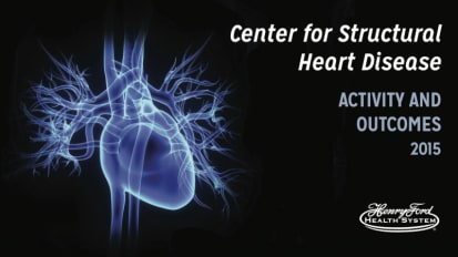 Center for Structural Heart Disease - Activity and Outcomes 2016