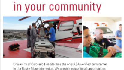 Burn care education in your community