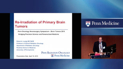Re-­Irradiation of Primary Brain Tumors