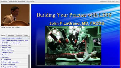 AAGL 2011: Building Your Practice with LESS