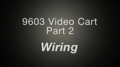 9603 Video Cart, Part 2: Wiring