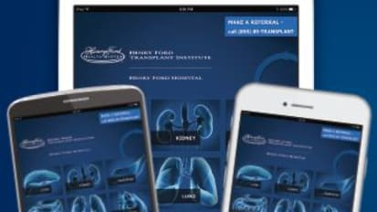 The Henry Ford Transplant App