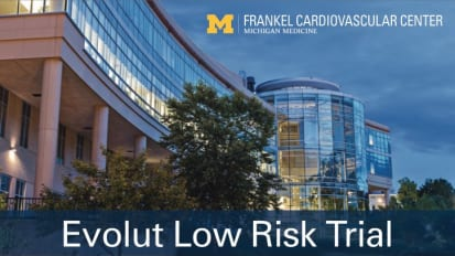 Evolut Low Risk Trial
