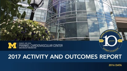 2017 U-M Frankel Cardiovascular Center Outcomes Report
