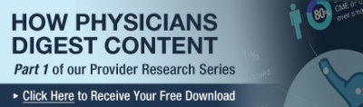 [Infographic] How Physicians Digest Content