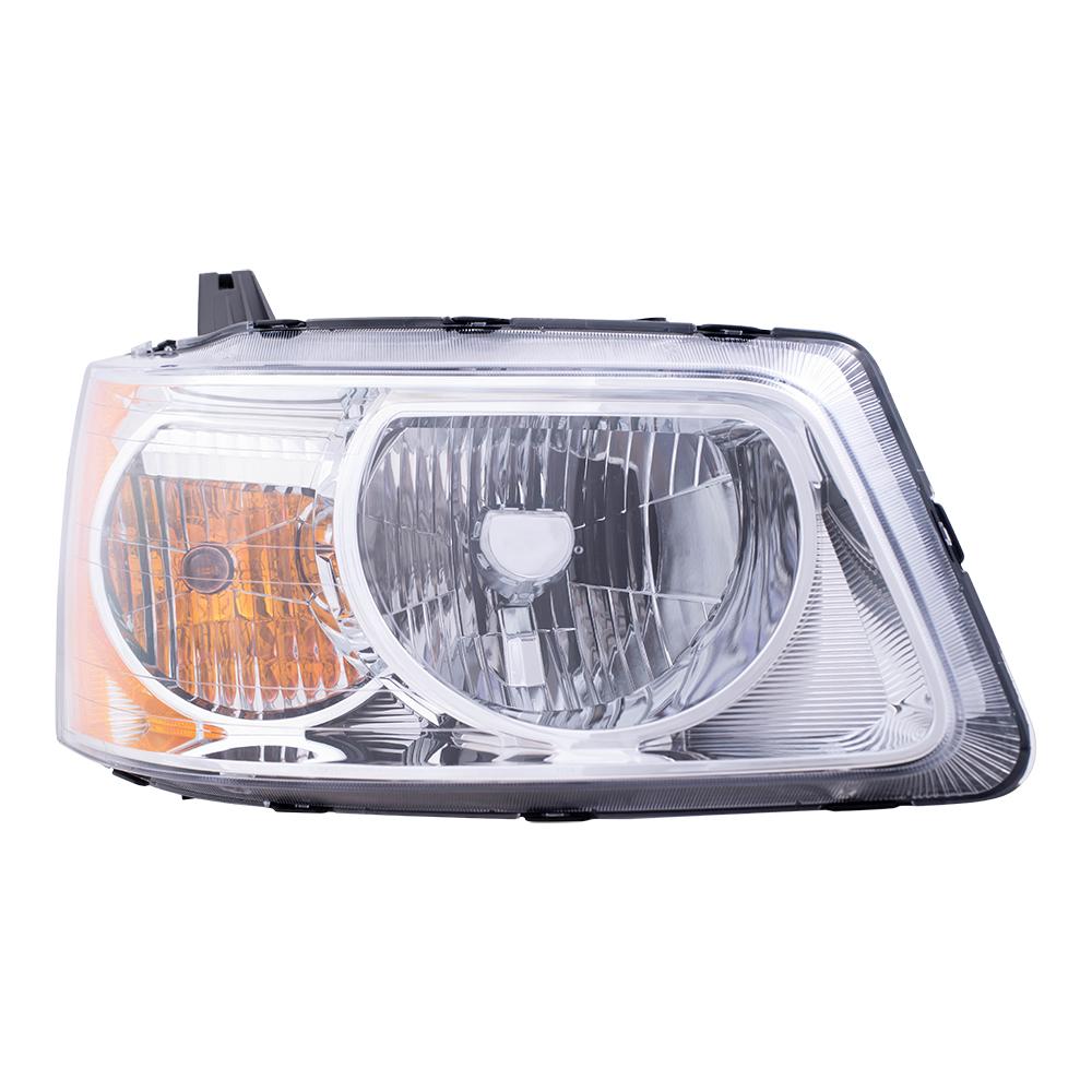 Dodge Dynasty 1989 Headlight Switch: 06-09 Pontiac Torrent Passengers Headlight Assembly