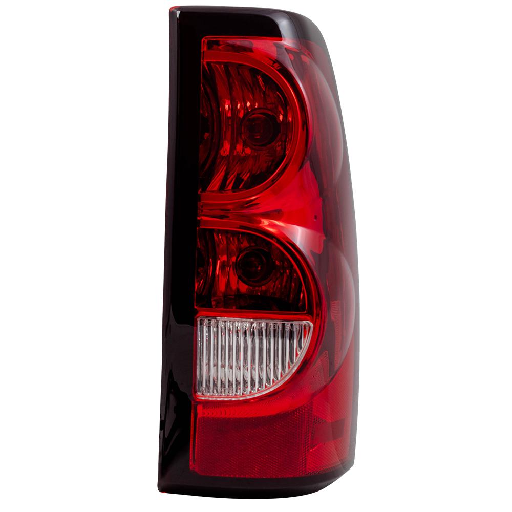 Autoandart Com 04 07 Chevrolet Silverado Fleetside Pickup Truck New Passengers Taillight