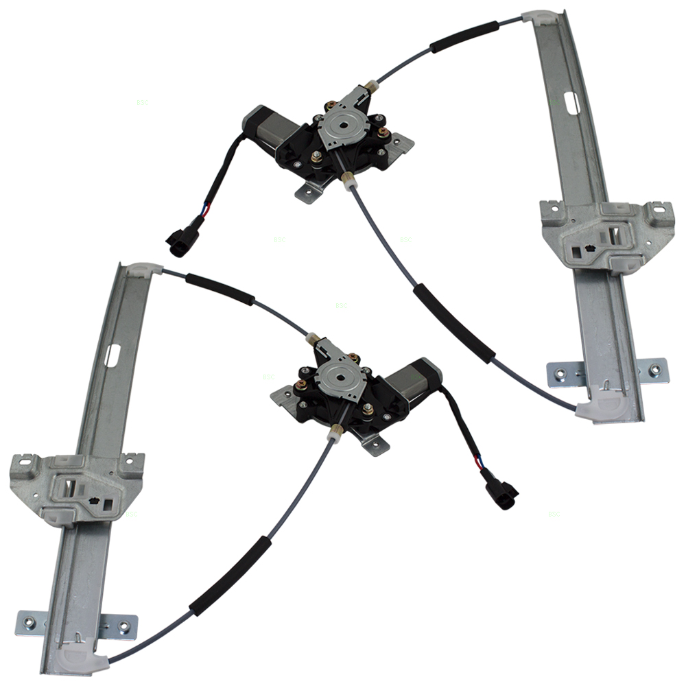 02 07 saturn vue set of front for Saturn window motor replacement
