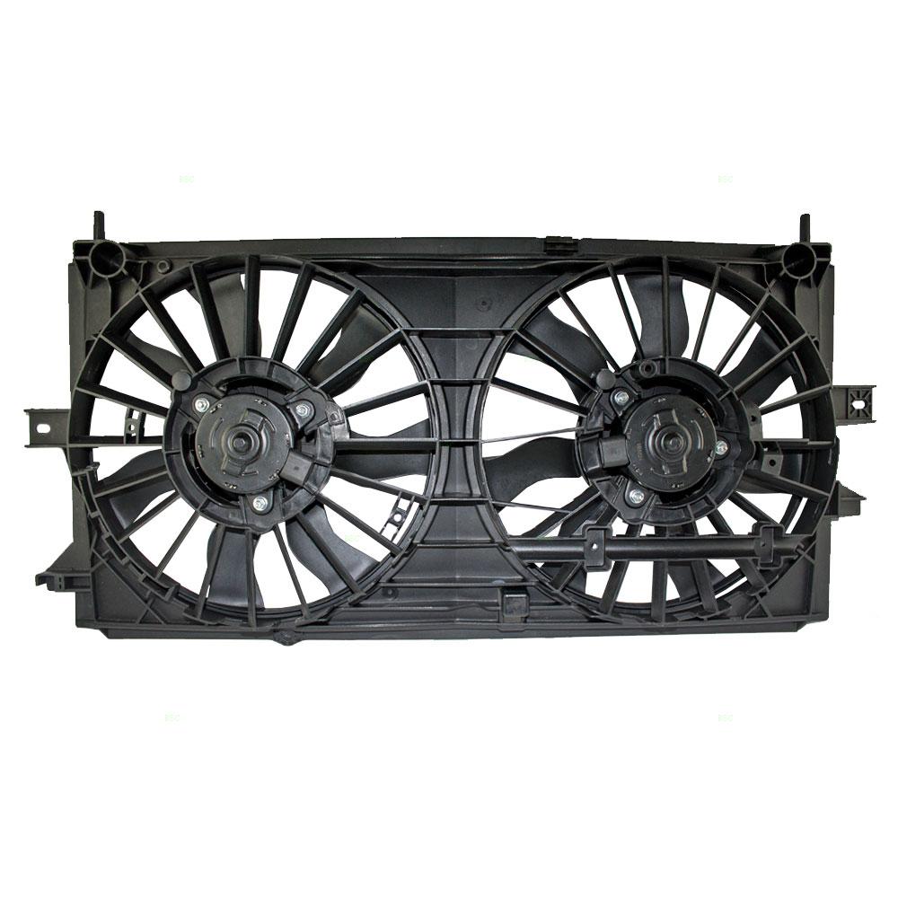 00 03 Chevrolet Impala Monte Carlo Radiator Cooling Fan Motor Assembly